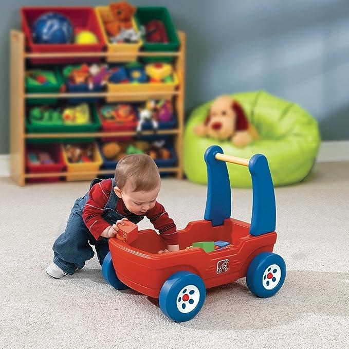 Amazon.com: Step2 Walker Wagon con bloques: Toys & Games