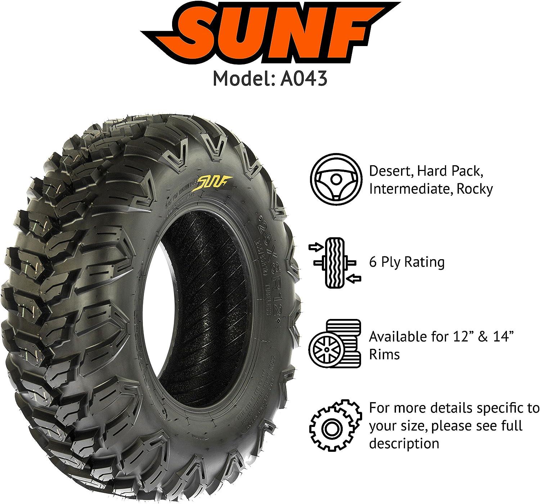 26x11R14 26x11x14 ATV UTV All Trail AT Radial 6 Ply Tire A043 by SunF