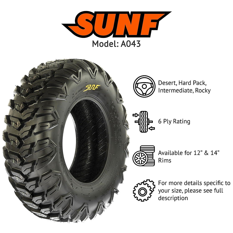 26x9R12 26x9x12 ATV UTV All Trail AT Radial 6 Ply Tire A043 by SunF