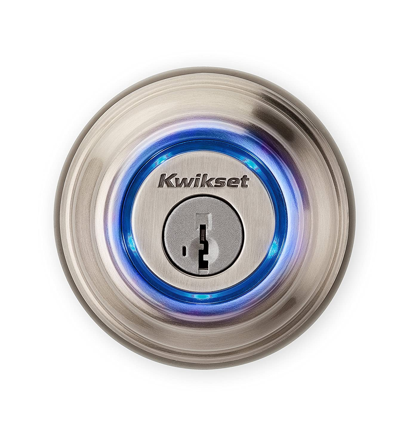 Kwikset - Kevo 99250-202 Kevo 2.0 Touch-to-Open Smart Lock in Satin Nickel