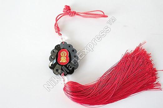 Chinese Lucky Feng Shui Kuan-yin Charm,Car hang Gift, Wealth Good Fortune