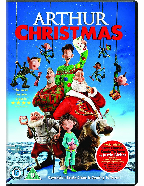 arthur christmas dvd 2011 amazon co uk james mcavoy bill