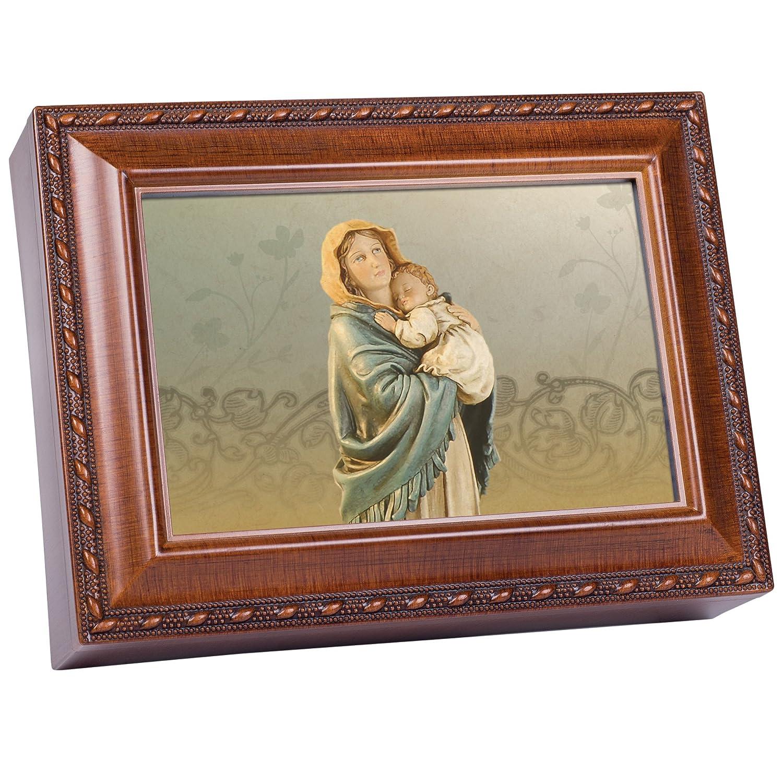 【★超目玉】 Madonna of the the Streets木製仕上げジュエリー音楽ボックスPlays Ave Maria Madonna Maria B003AKDOFA, 相馬市:779ea1f1 --- arcego.dominiotemporario.com