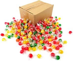 Colombina Sour Balls Hard Candy, 2.5 lb Bag Frustration Free Packaging