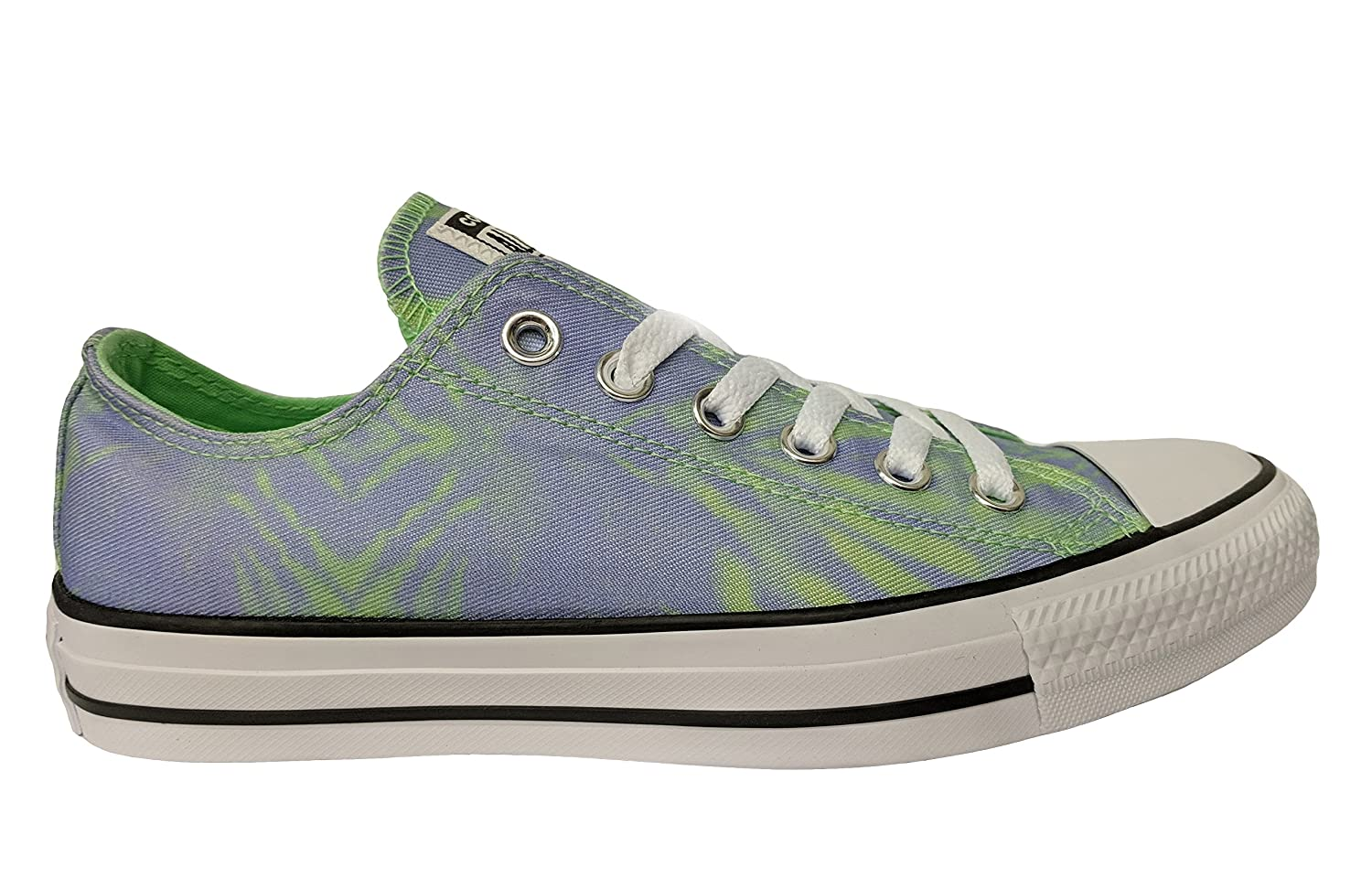 Converse CTAS OX Womens Fashion-Sneakers B076TF7TCD 11.5 Women / 9.5 Men M US|Illusion Green/Twilight Pulse