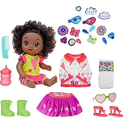 Baby Alive So Many Styles Baby (Black Curly Hair): Toys & Games