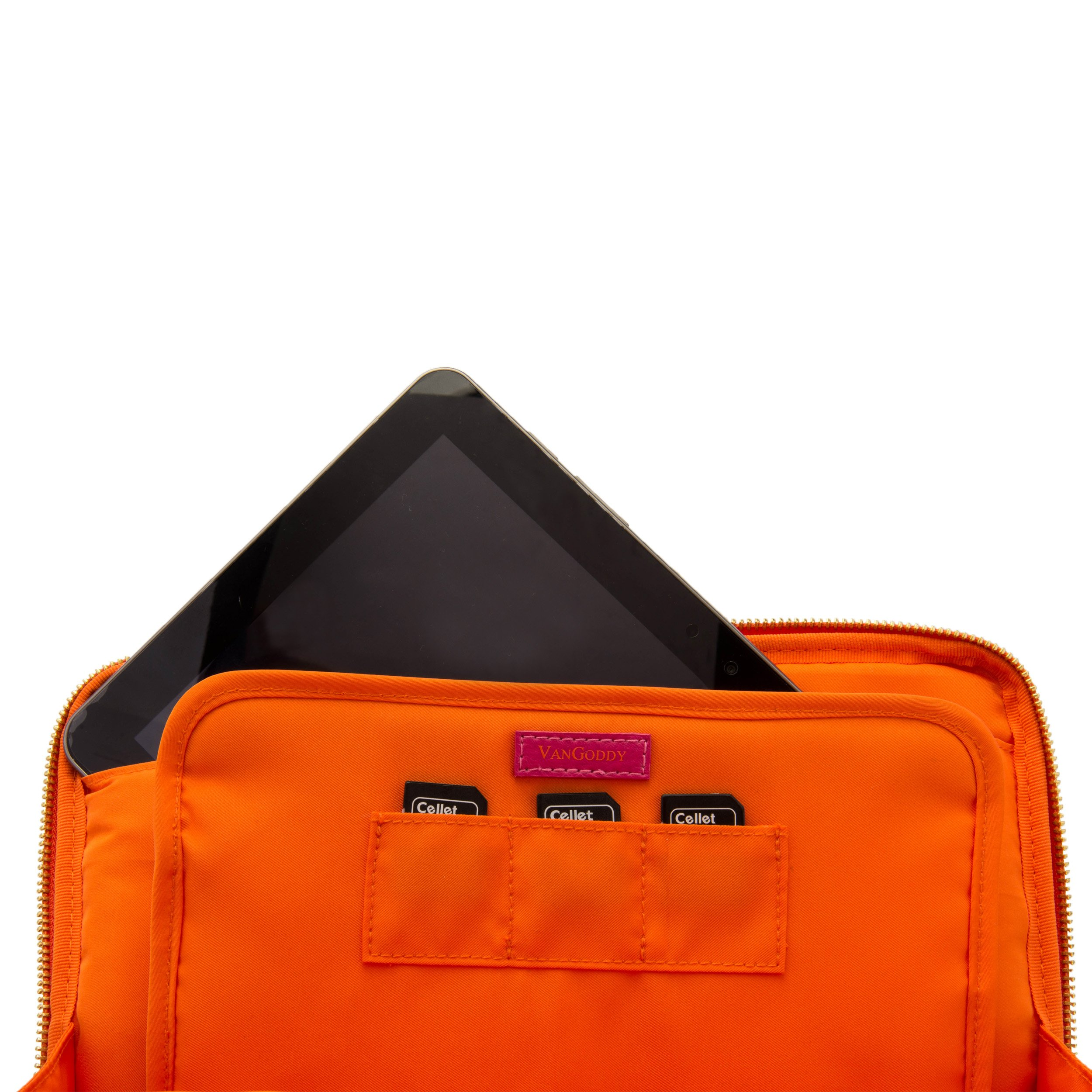 Travel Leatherette Sleeve For Samsung Galaxy Tab S 10.5 / Galaxy Tab 4 10.1 / Galaxy Tab Pro 10.1 + Bluetooth Speaker by VangoddyCase (Image #6)
