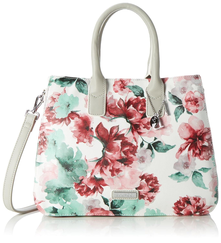 Bulaggi - Bliss Handbag - sac à main - femme - Multicolore (light Grey) - 17x23x29 cm (B x H x T) 30325_LIGHT GREY