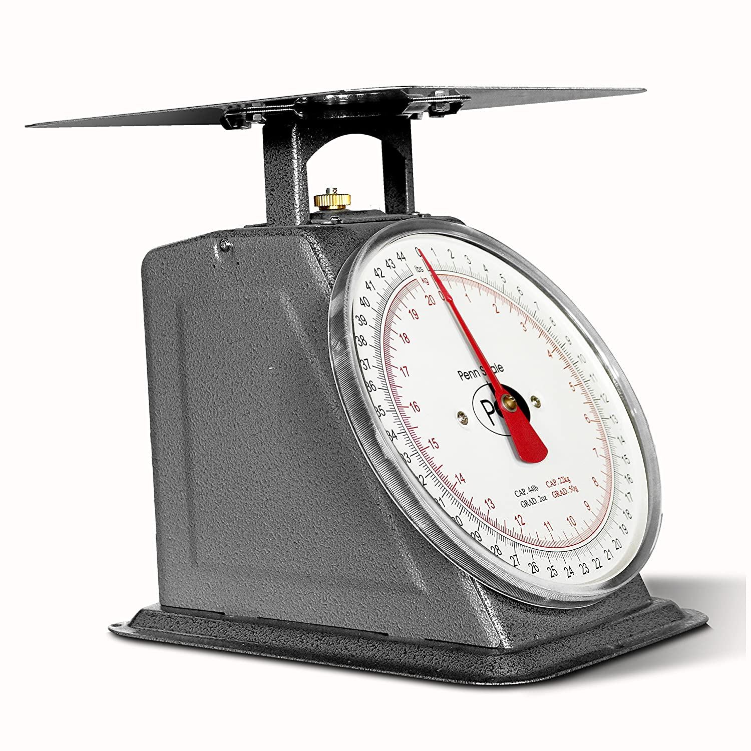 Penn Scale P-44 Top Loading Fixed Dial Scale 44 lb
