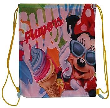 Minnie - Bolsa Saco con Mochila de Minnie Mouse: Amazon.es: Juguetes y juegos