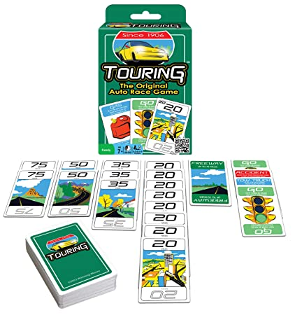 Amazon.com: Touring Juego de cartas: Toys & Games