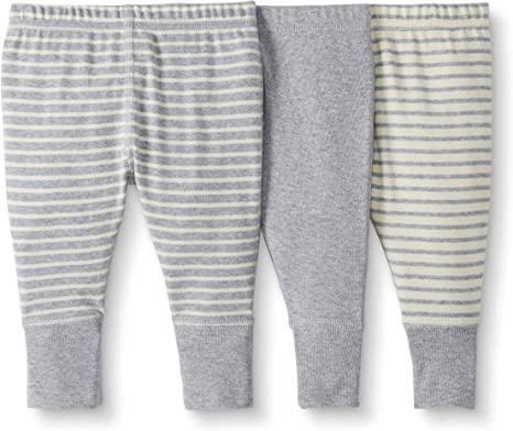 Moon and Back de Hanna Andersson - Pack de 3 pantalones de chándal ...