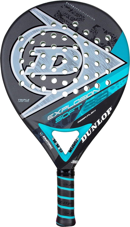 Dunlop Explosion Soft - Pala de pádel, Color Azul/Negro: Amazon.es ...