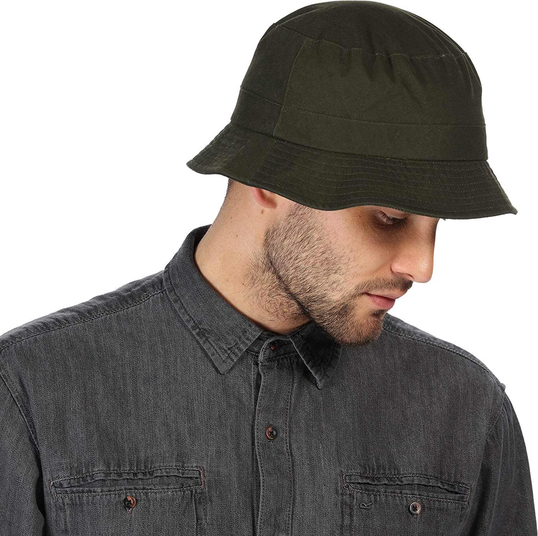 Regatta Sampson Wax Hat dark khaki 2020 Headwear