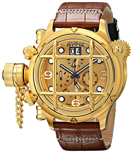 INVICTA RUSSIAN DIVER RELOJ DE HOMBRE CUARZO SUIZO 52MM 17339: Amazon.es: Relojes