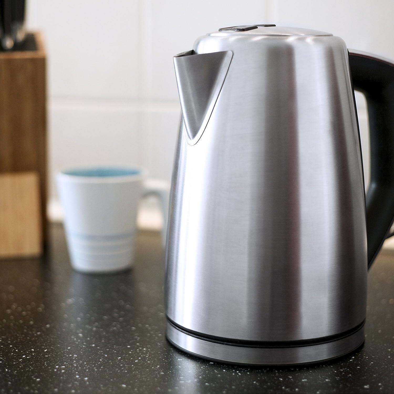 Moderne Wasserkocher amazon de arendo edelstahl turbo wasserkocher 3000 watt inkl