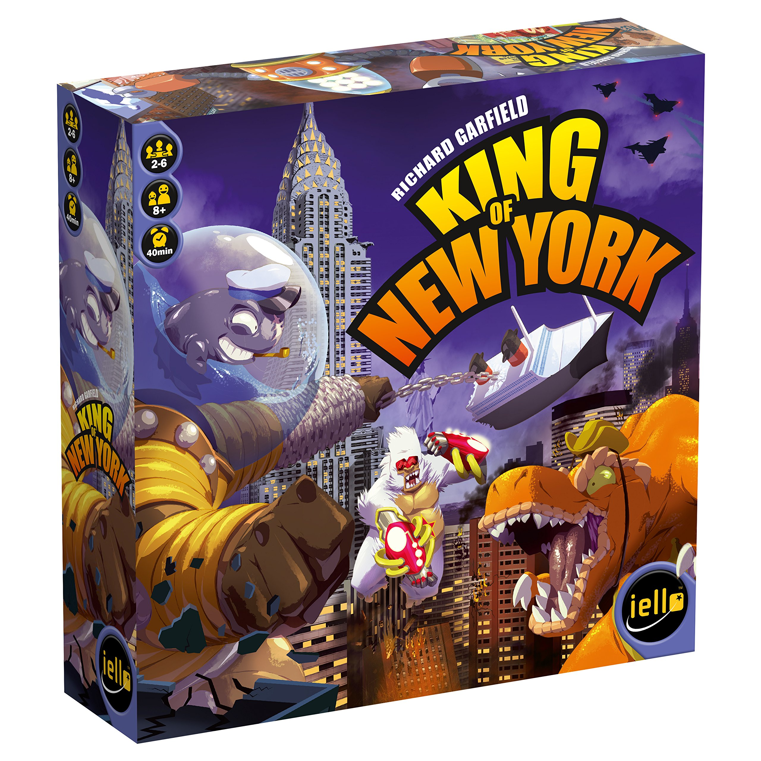 IELLO King of New York Board Game
