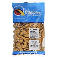 "Qualatex 43560 Gold Latex Balloons, 5"", Gold, Pack of 100"