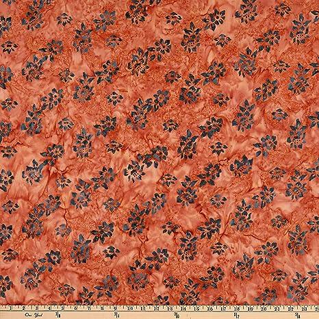Amazon Com Benartex Bali Batiks Tropic Garden Small Flower Fabric