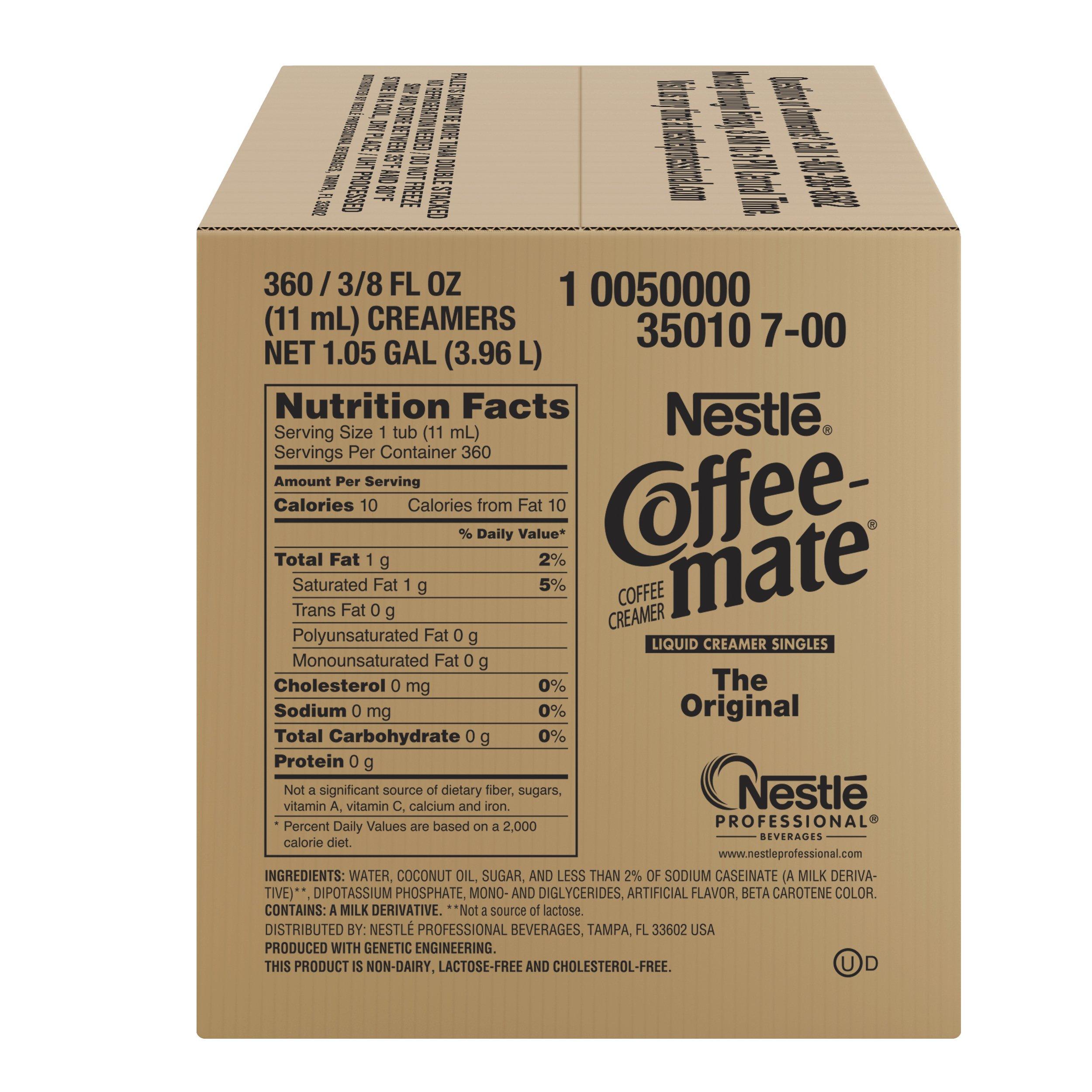 NESTLE COFFEE-MATE Coffee Creamer, Original, liquid creamer singles, 360 Count (Pack of 1) by Nestle Coffee Mate (Image #4)