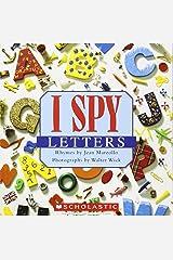 I Spy Letters Paperback