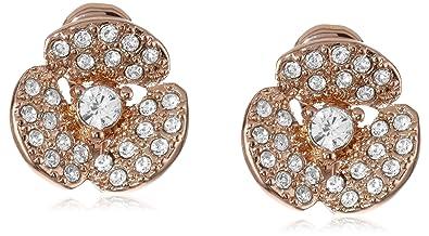 Amazon Com Kate Spade New York Disco Pansy Clip Earrings Jewelry