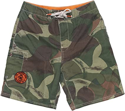 67300d3428 Image Unavailable. Image not available for. Color: RALPH LAUREN Polo Men's  Camouflage-Print Shelter Island Swim Trunks ...