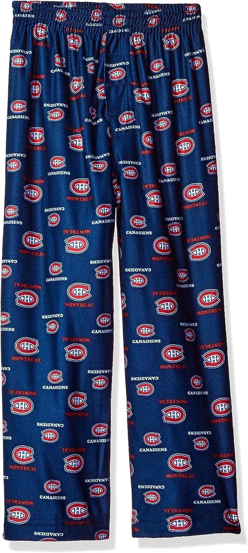 OuterStuff NHL Kids Montreal Canadiens Long Sleeve Tee and Pant Sleep Set