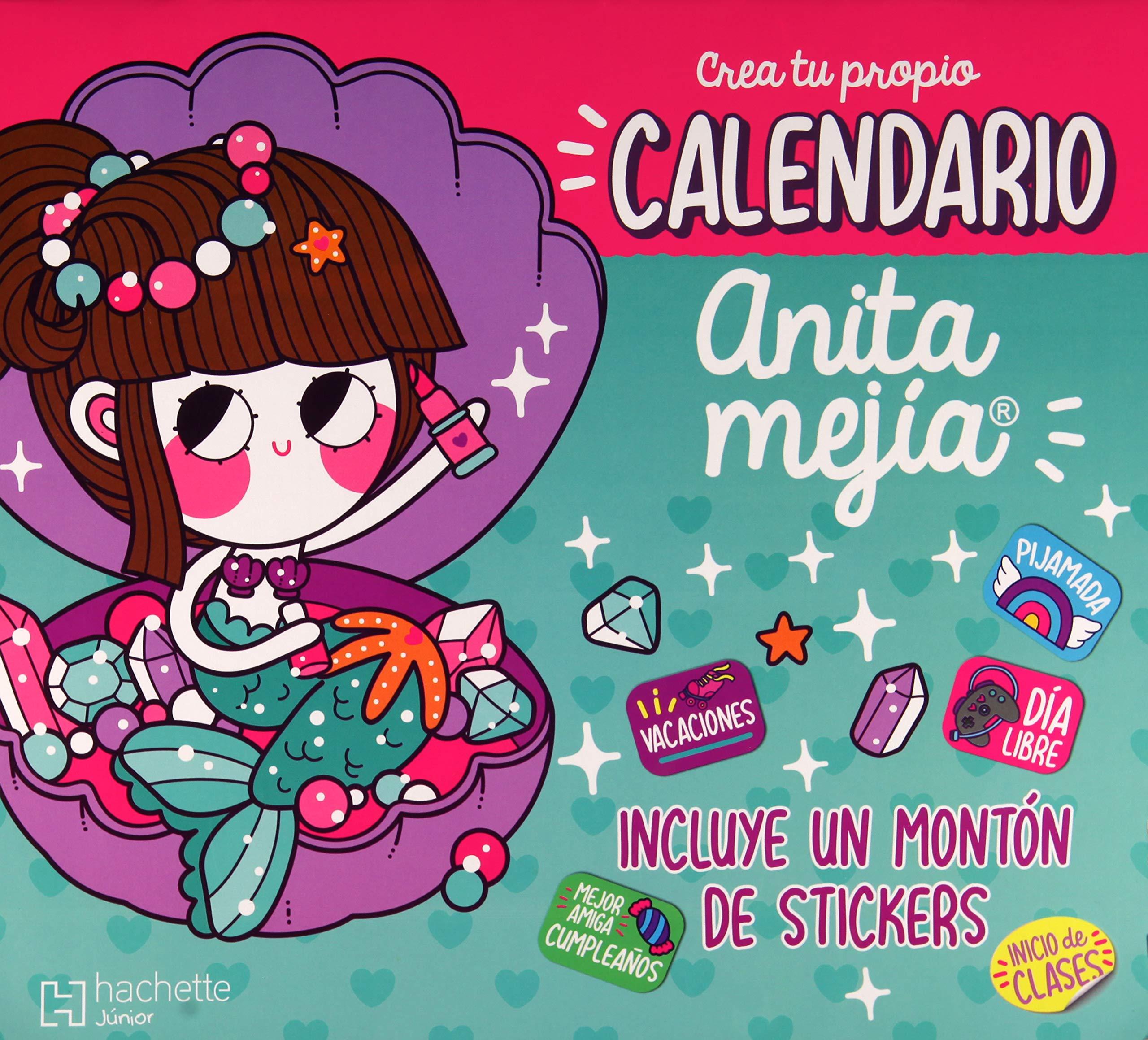 CALENDARIO ANITA MEJIA (INCLUYE STICKERS): Varios ...