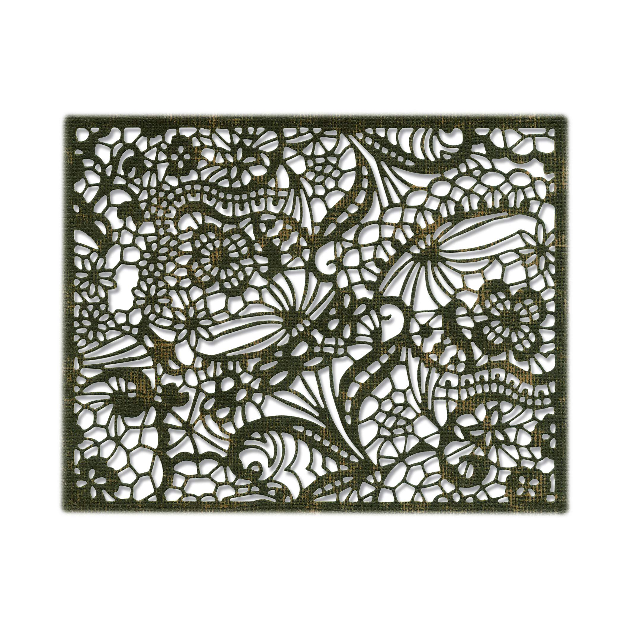 Sizzix 664181 Intricate Lace Dies, Multicolor