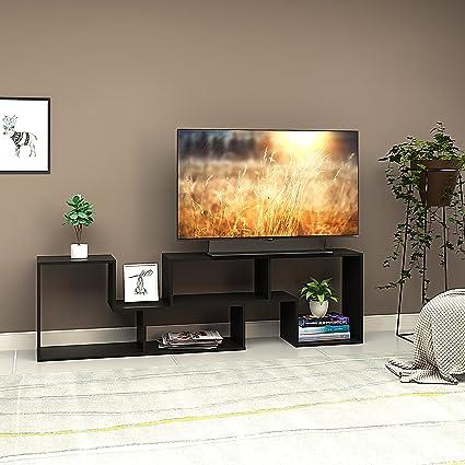 Merveilleux DEVAISE 2 Piece TV Stand   Television Console Cabinet For 22u0026quot;    60u0026quot;,