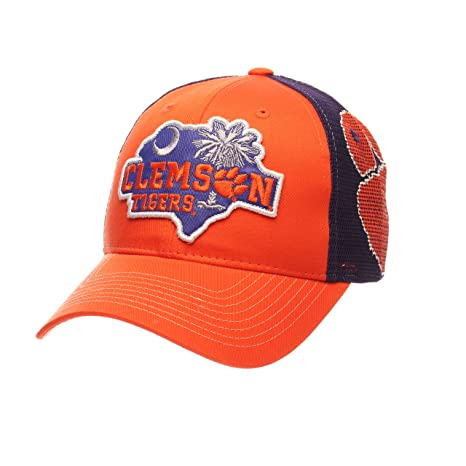 Image Unavailable. Image not available for. Color  ZHATS NCAA Clemson Tigers  Men s Interstate Trucker Cap ... 75d15ca88908