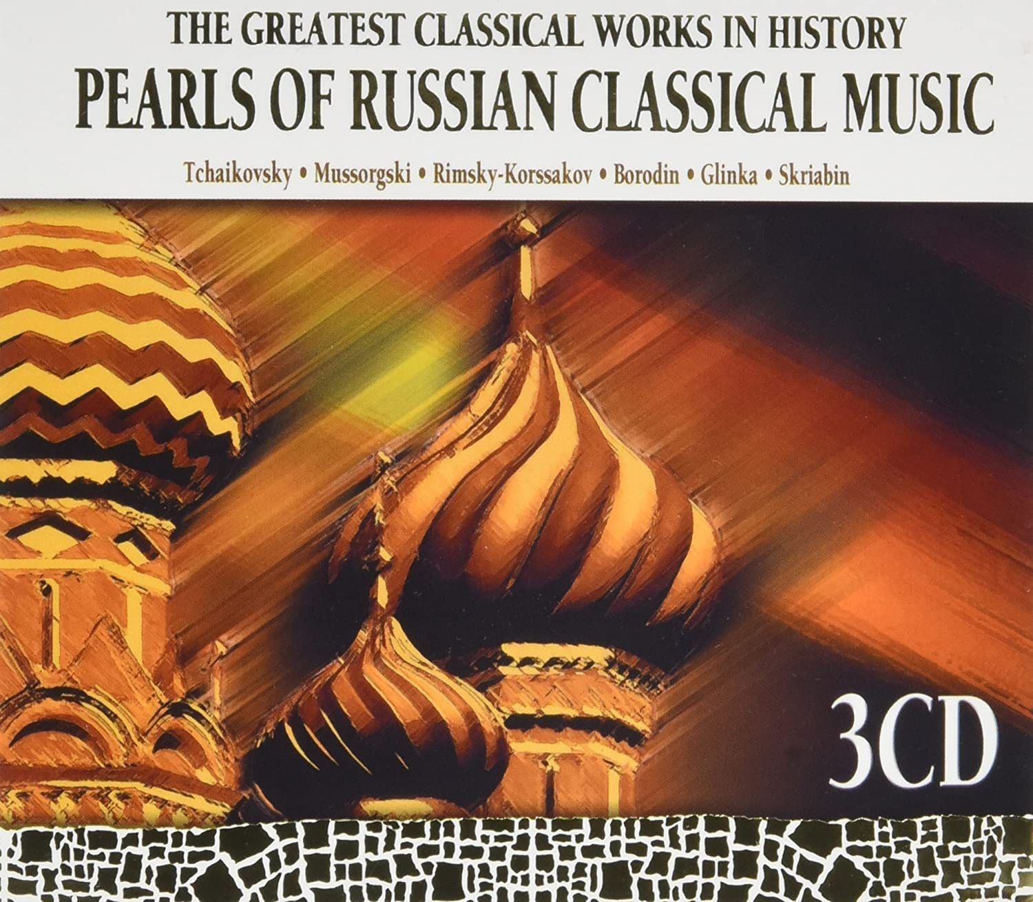 Pearls of Russian Classical Music-3 CD - Amazon com Music