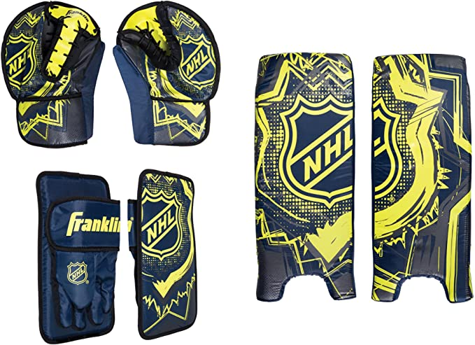 Franklin Sports Kids Hockey Goalie Set - NHL