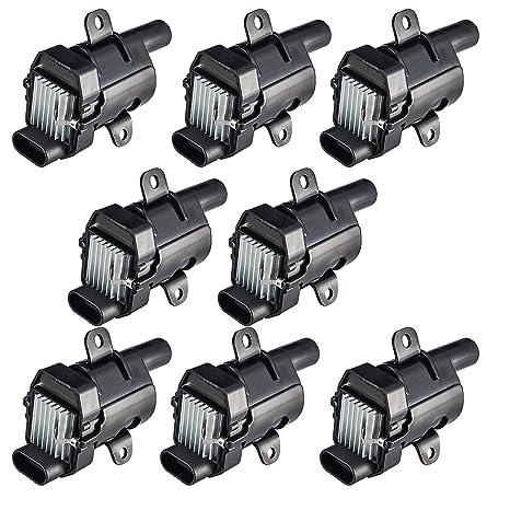 Ignition Coils Pack of 8 for 2003-2007 Chevrolet Express 1500 2500 3500 V8
