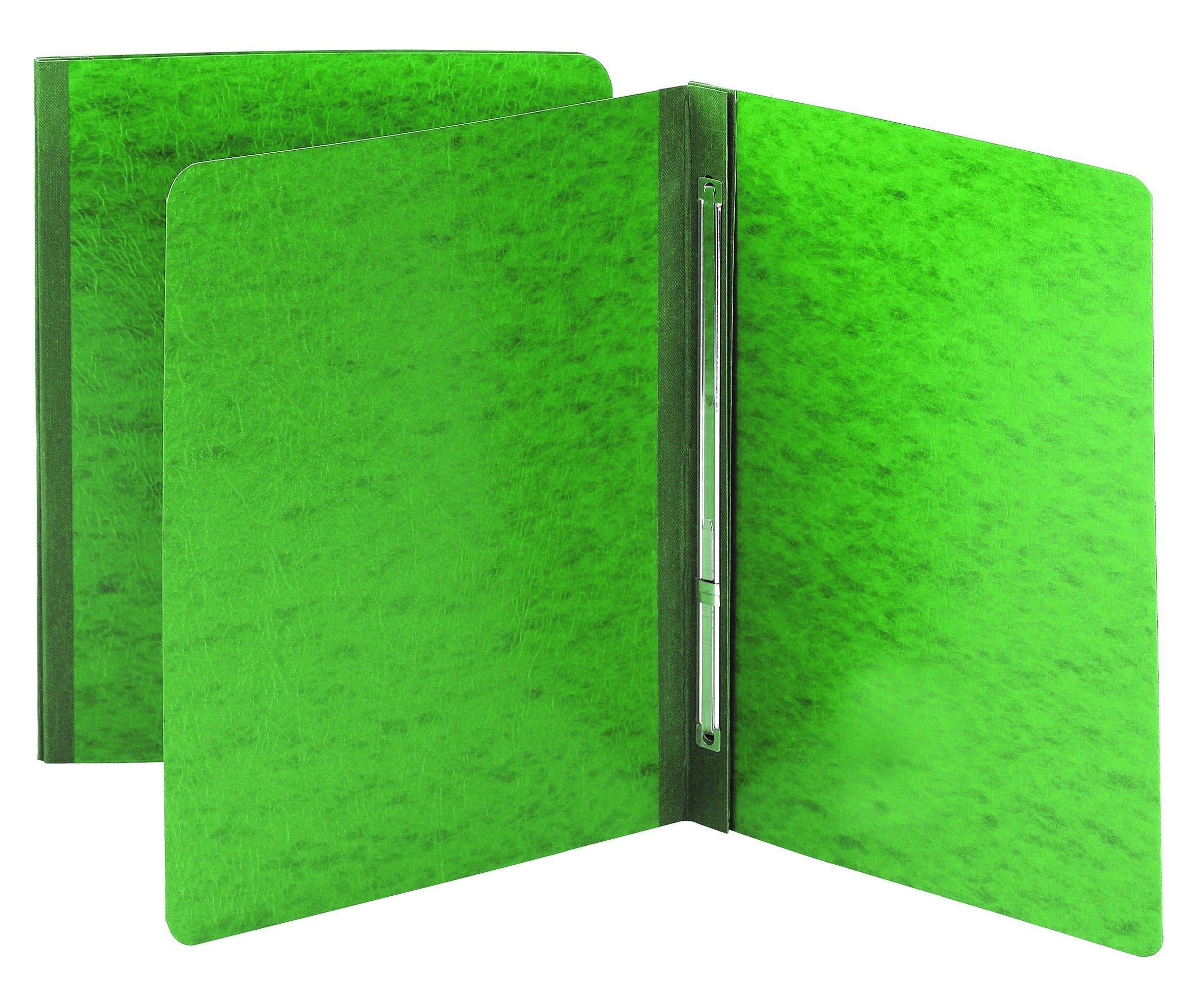 Smead PressGuard Report Cover with Side Fastener, 3'' Capacity, Letter Size, Green, 25 per box (81452)