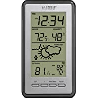 La Crosse Technology WS-9230U-IT-INT Digital Forecast Thermometer with Temp & Humidity