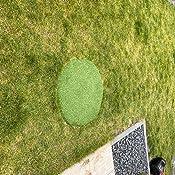Braun, 200x900 cm casa pura/® Komfort Kunstrasen mit Noppen Meterware Balkon und Freizeit Rasenteppich f/ür Terrasse wetterfest /& schnelltrocknend