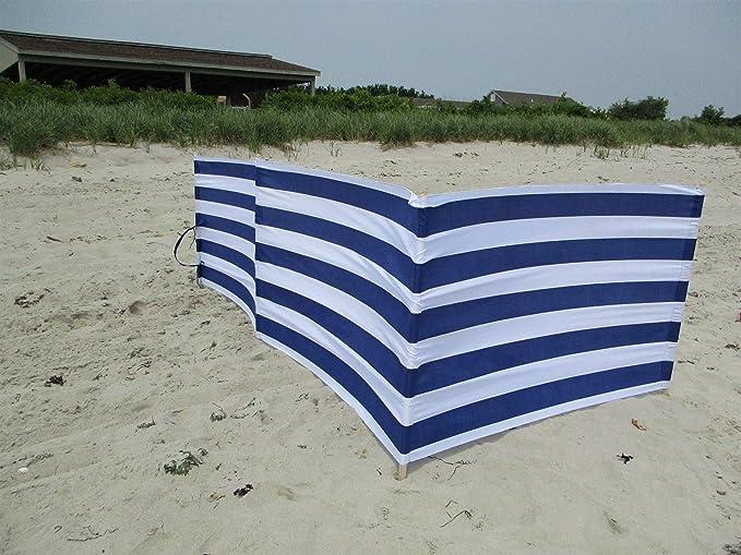 Tidyard 3-panel Wind Screen Folding Fabric Camping Windbreaks Beach Shelter Breakers 1200x160 cm Taupe Folding Sun Privacy Screens
