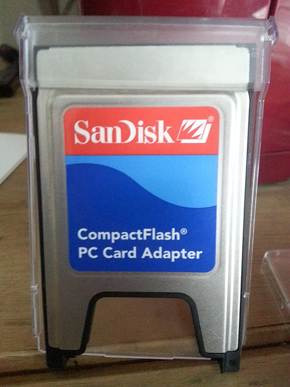 Amazon.com: SanDisk CompactFlash Tarjeta de PC Adapter ...