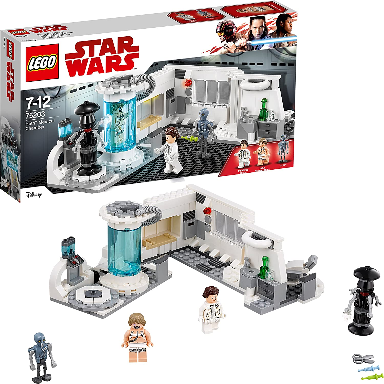 LEGO Star Wars - Cámara Médica de Hoth, Juguete de La Guerra de ...