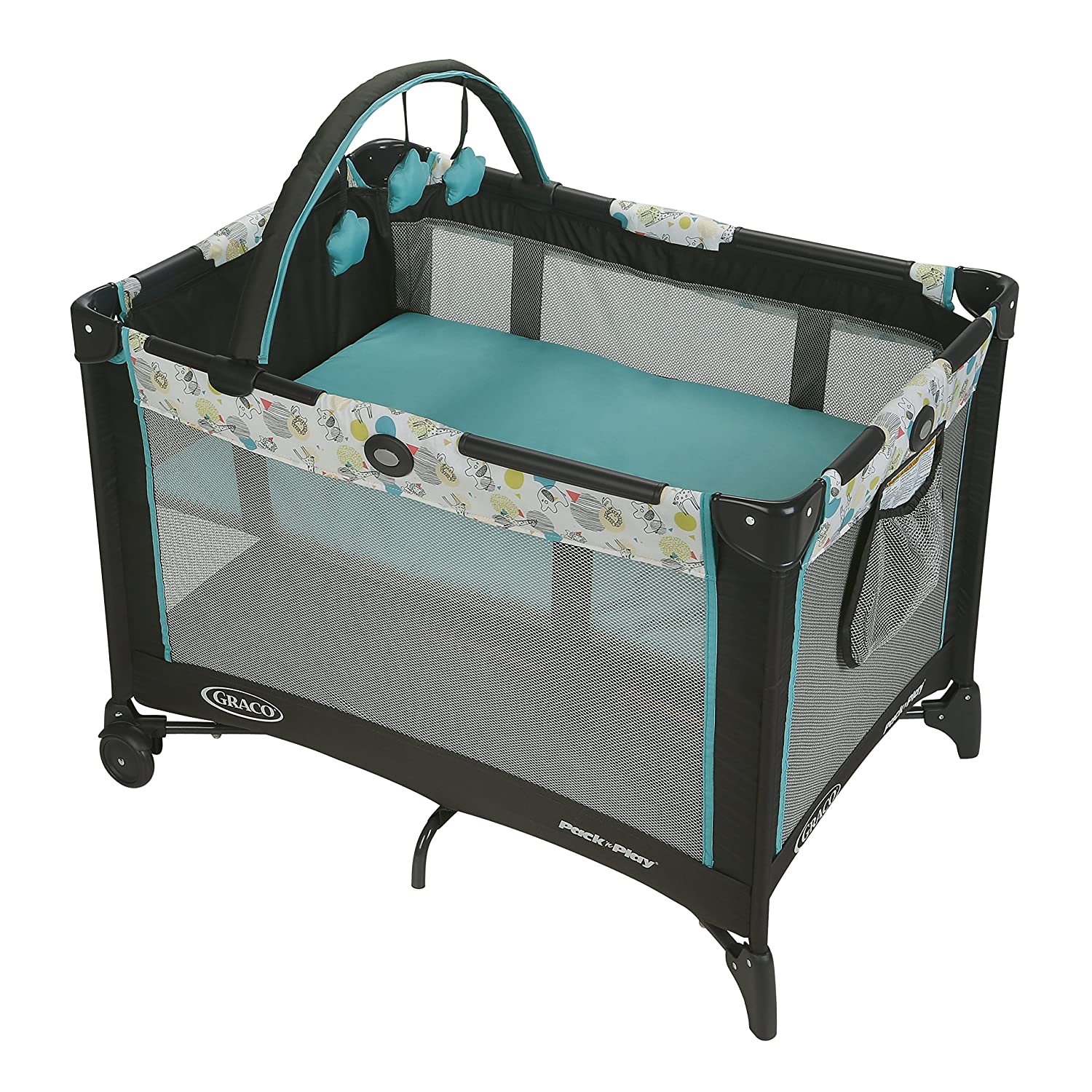 Graco Pack 'n Play Playard Bassinet, Carnival 2013809