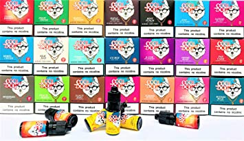 COOL DOG 3 X 10ML 0MG VG80 PG20 Premium E Liquids E Juice Vape Liquid No  Nicotine Shisha Flavour for Vaping Pens Mods E Cigs (COOL DOG CRAZY LEMON