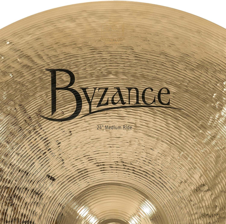 Meinl Cymbals B24MR-B Byzance 24-Inch Brilliant Medium Ride Cymbal