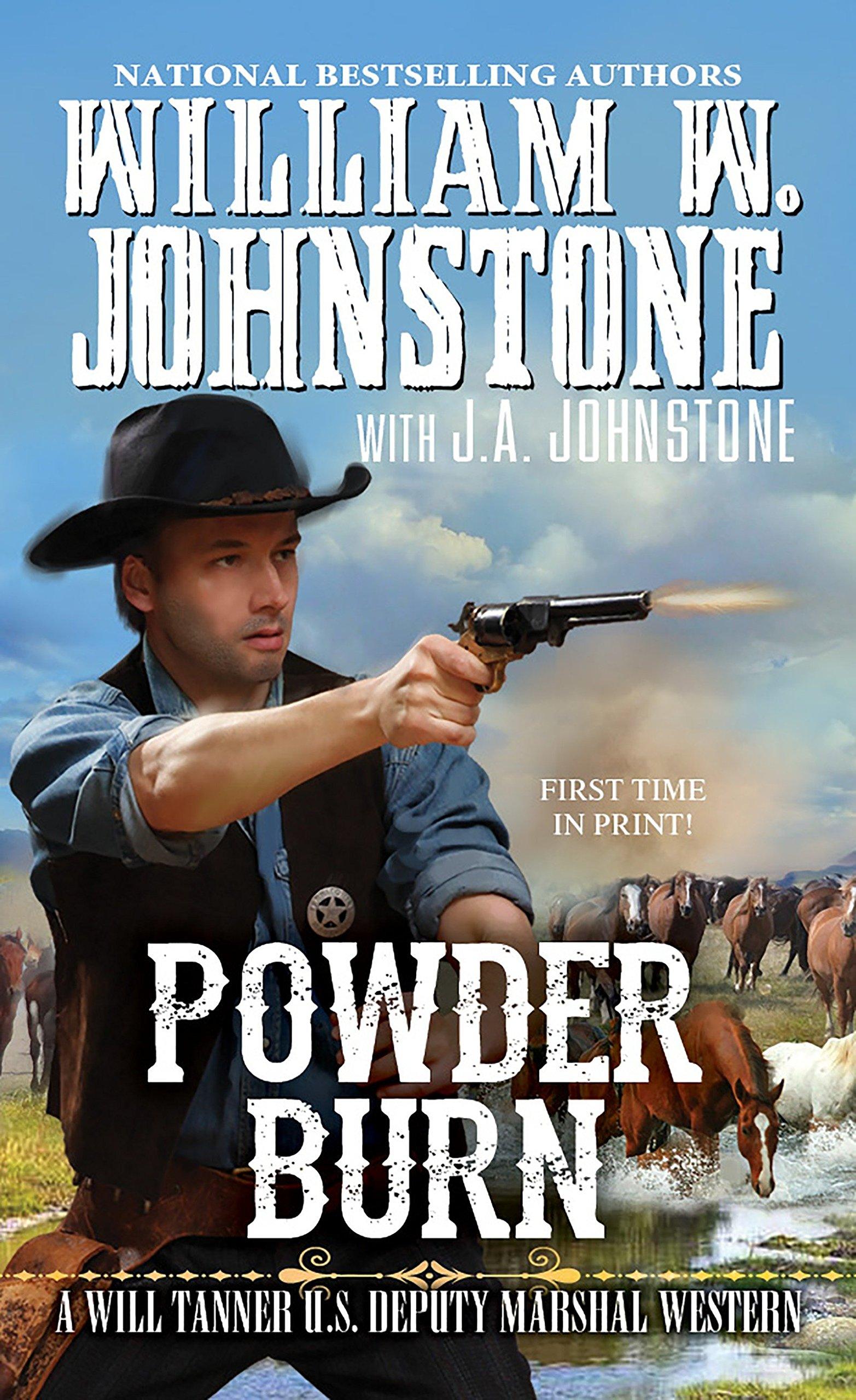 Powder Burn (A Will Tanner Western) ebook