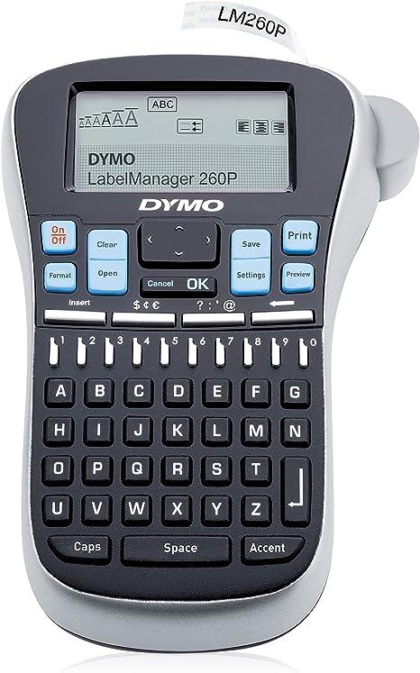 DYMO LabelManager 260P - Impresora de Etiquetas (9 Etiqueta(s), 25 ...