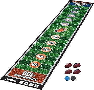 Franklin Sports - Alfombrillas para juegos de mesa de shuffleboard - Tapetes de tablero y empujadores de mesa - Juegos de tetera interiores - 54234, Fútbol, Multicolor: Amazon.es: Deportes y aire libre