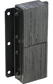 c60b14c45129f Vestil 624-4.5 Horizontal Laminated Dock Bumper, Fabric Reinforced ...