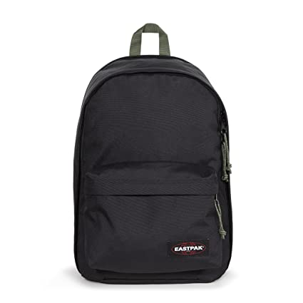 5d280ba78b Amazon.com: Eastpak Back to Work Backpack (Black/Moss): Sports ...