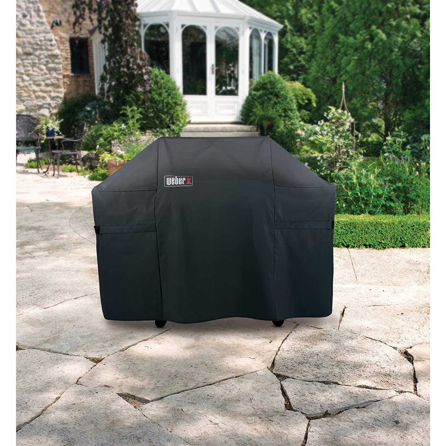 Amazon Weber 7554 Premium Cover Fits Summit 400 Series Grills